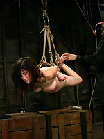 Stacey discovers a harsh crotch rope for the first time.