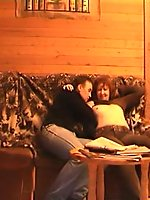 Horny mom furtively filmed making love