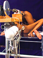 Cum see Latoya and Tierra in a machines fuck fest.
