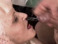 Mature has anal fuck n gets facial