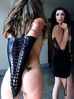 Princess Donna trains slave girl Jade Marxxx