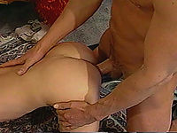 Sexy blonde gets her pussy destroyed doggie style