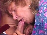 Old nasty granny wanna some caress