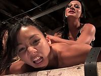 Keeani Lei gets fucked in the ass with electricity