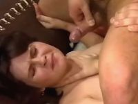 Pregnant cutie gets cumload on face