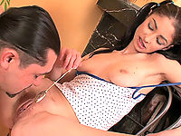 This mature seducer uses girl's naivety and turns all his lustful dreams into reality.