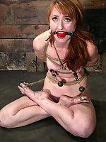 Kendra gets finally gets hogtied.