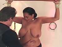 Slaves big breasts getting extreme abused