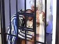 Prisoner spoils old lady and sucked