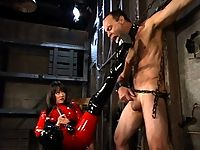 Pro-Dominatrix Mistress Aradia tears into her fresh meat