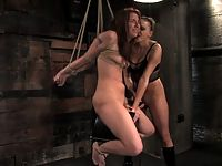 Delilah Strong get bound shocked and fucked by Mistress Nikki