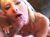 Milf making huge hammer burst out