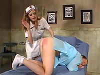 A kinky S&M game with the perverted nurse Roxetta.