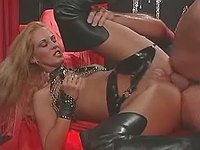 Men dominated by cruel hot mistress
