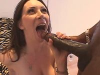 Milf getting black cock from behind