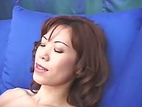 Curly asian bitches in horny lesbian pussy and dildo licking thrill