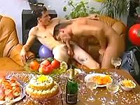 Filthy sex party with spoilt twinks