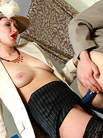Strap-on armed chick knowing how to seduce horny guy into steamy screwing