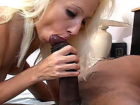 Mr Big Black Cock Throat Gags Miss Stupid White Slut
