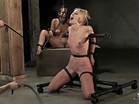 Jade Marxxx in a punishing six hour live hardcore bondage show