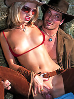 Cum thirsty cowgirl meets thick dick to fuck
